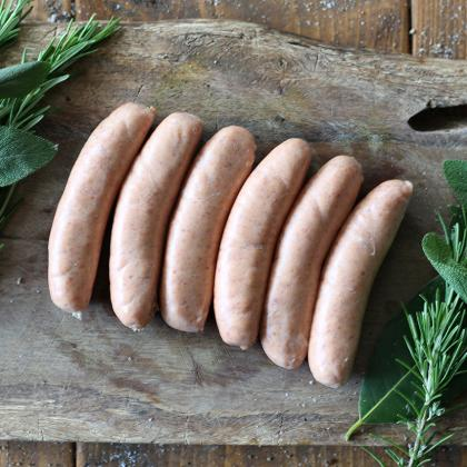 Pork, Chilli and Garlic Sausages